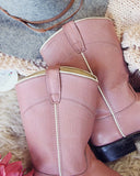 Rosie Girl Vintage Boots: Alternate View #2