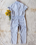 Rosie Coverall Utility Jumpsuit in Lilac: Alternate View #5