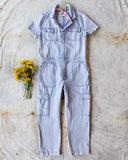 Rosie Coverall Utility Jumpsuit in Lilac: Alternate View #1