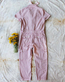 Rosie Coverall Utility Jumpsuit in Pink: Alternate View #4