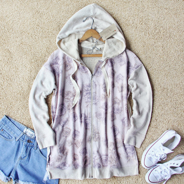Rosy Boheme Hoodie: Featured Product Image