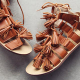 Roux Tassel Sandals: Alternate View #2