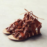 Roux Tassel Sandals: Alternate View #3