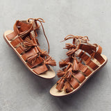 Roux Tassel Sandals: Alternate View #1