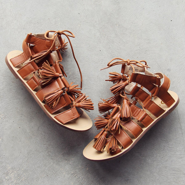 Roux Tassel Sandals: Featured Product Image