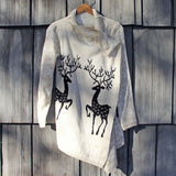 Reindeer Knit Sweater: Alternate View #3