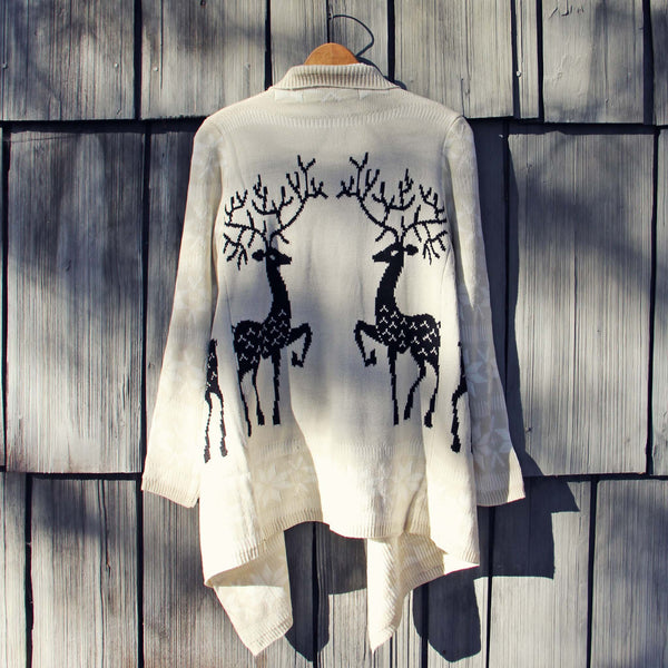 Reindeer Knit Sweater: Featured Product Image