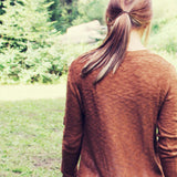 The Rusted Maple Sweater: Alternate View #3