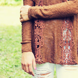The Rusted Maple Sweater: Alternate View #1