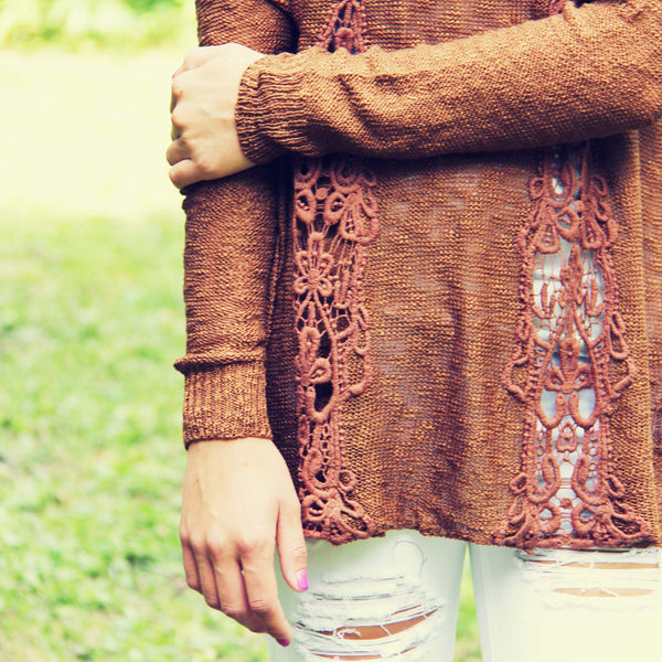 The Rusted Maple Sweater: Featured Product Image