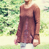 The Rusted Maple Sweater: Alternate View #2