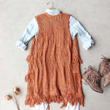 Rusted Romance Sweater Vest: Alternate View #3