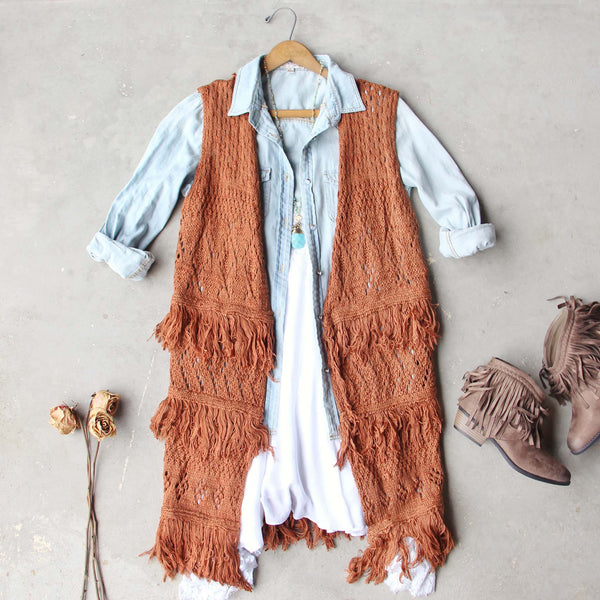 Rusted Romance Sweater Vest: Featured Product Image