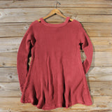 Rusted Rose Thermal in Burgundy: Alternate View #3