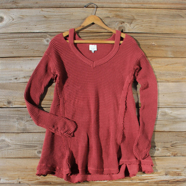 Rusted Rose Thermal in Burgundy: Featured Product Image