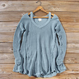 Rusted Rose Thermal in Sage: Alternate View #1