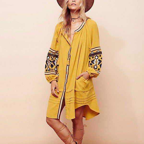 Crystal Springs Tunic Dress: Featured Product Image