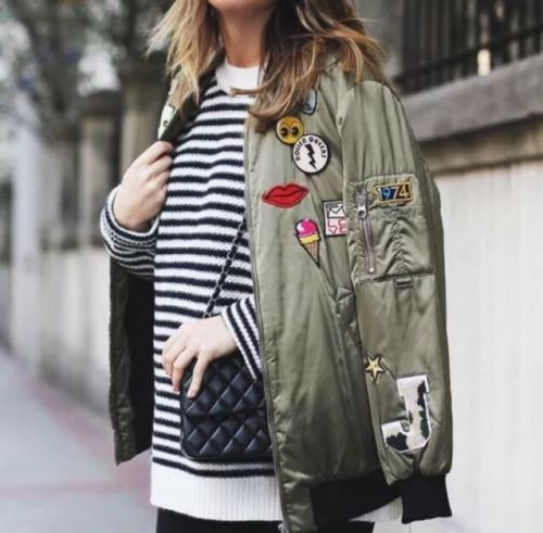 The Patches Bomber Jacket: Featured Product Image
