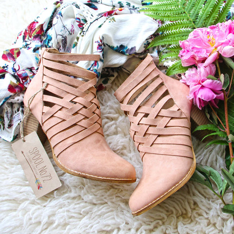 Sabrina Strappy Booties