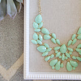 Sacred Stones Necklace in Mint: Alternate View #2