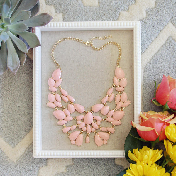 Sacred Stones Necklace in Pink: Featured Product Image