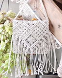 Sadie Macrame Tote: Alternate View #1