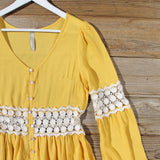 Saffron Boho Blouse: Alternate View #2
