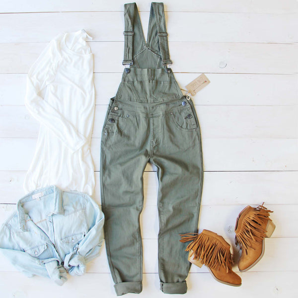 Sage Falls Overalls: Featured Product Image