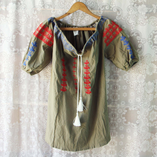 Sage Gypsy Tunic: Featured Product Image