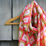 Sage Hills Scarf in Coral: Alternate View #2
