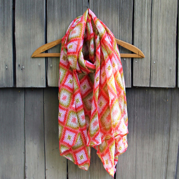 Sage Hills Scarf in Coral: Featured Product Image