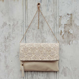 Sage & Lace Tote in Cream: Alternate View #1