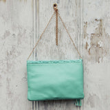 Sage & Lace Tote in Mint: Alternate View #3