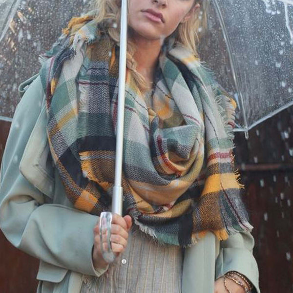 Sage Rain Scarf: Featured Product Image