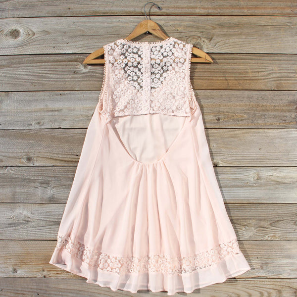 Sage Shadows Dress in Peony: Featured Product Image