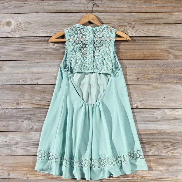 Sage Shadows Dress: Featured Product Image