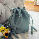 Sage & Tassel Tote: Alternate View #1