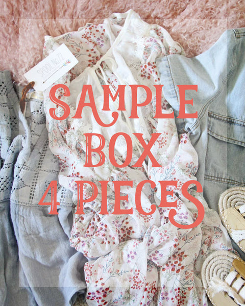 Summer Sample Box ~4 Pieces: Featured Product Image