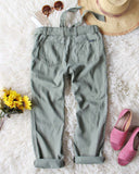 Desert Sage Cargo Pants: Alternate View #4