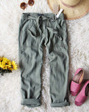 Desert Sage Cargo Pants: Alternate View #1