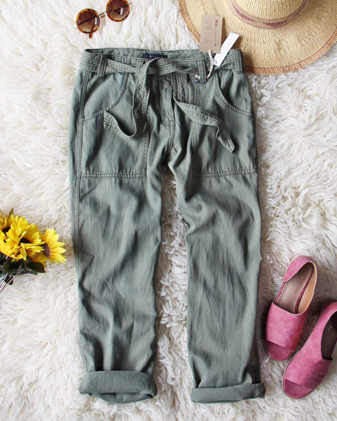 Desert Sage Cargo Pants: Featured Product Image