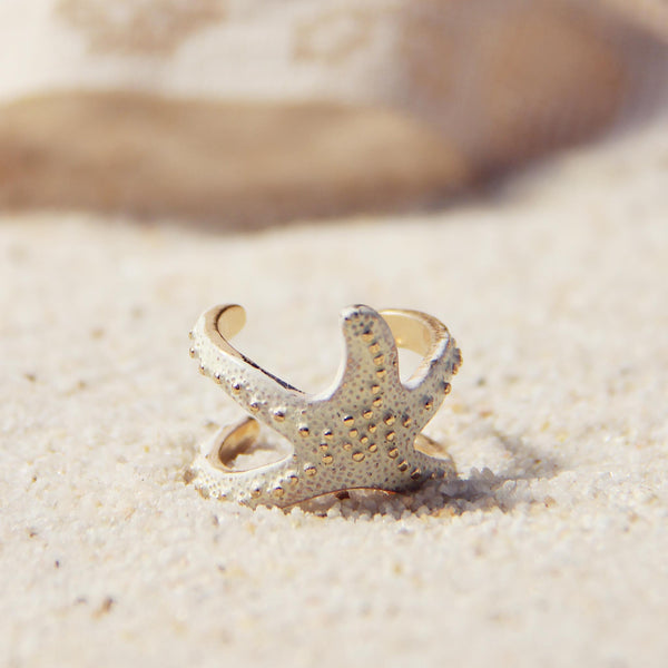 Sand & Starfish Ring: Featured Product Image