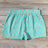 Sand Dancer Shorts in Green: Alternate View #3