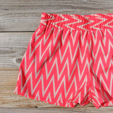 Sand Dancer Shorts in Pink: Alternate View #2