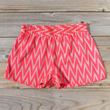 Sand Dancer Shorts in Pink: Alternate View #1