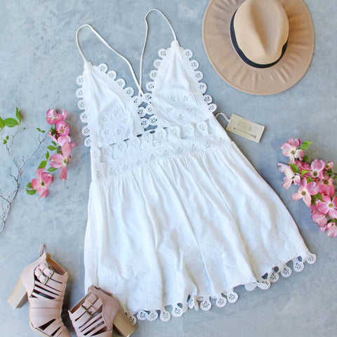 Sand Dollar Lace Dress