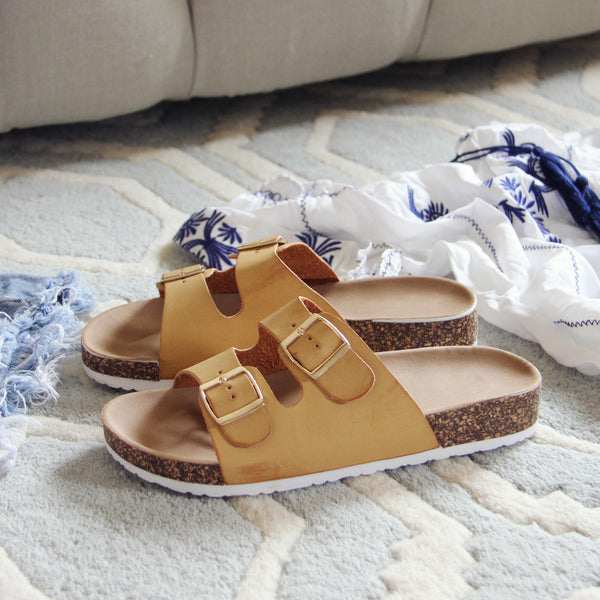 Sandstone Sandals: Featured Product Image