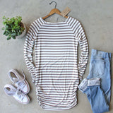 Sand Stripes Tunic Tee: Alternate View #4