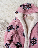 Sandpoint Sherpa Jacket in Pink: Alternate View #2