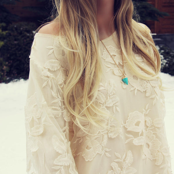 The Sandstone Lace Tunic: Featured Product Image